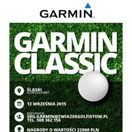 GARMIN CLASSIC - 13 Września 2015 Śląski Klub Golfowy !